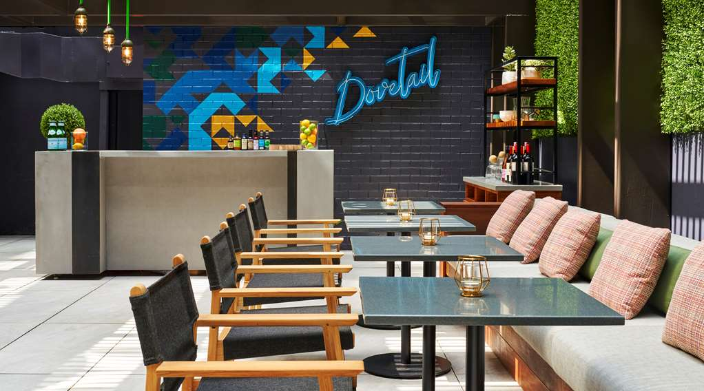 Dovetail outdoor seating