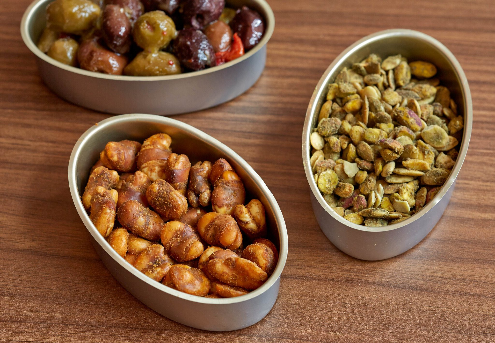 AC Lounge - Pistachio, Pepitas, Olives & Fava Beans