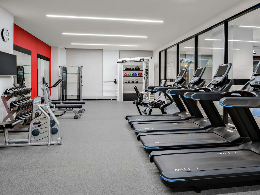 Health club  fitness center  gym